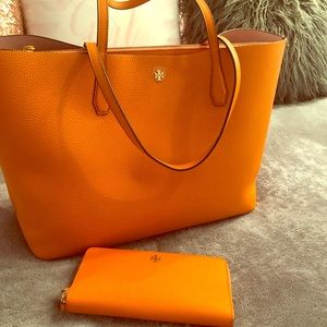 Tory Burch Brand New Tote & Wallet